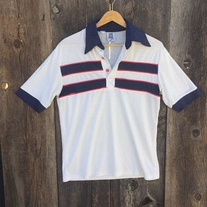 Vintage 70's Kennington Ringer Polo